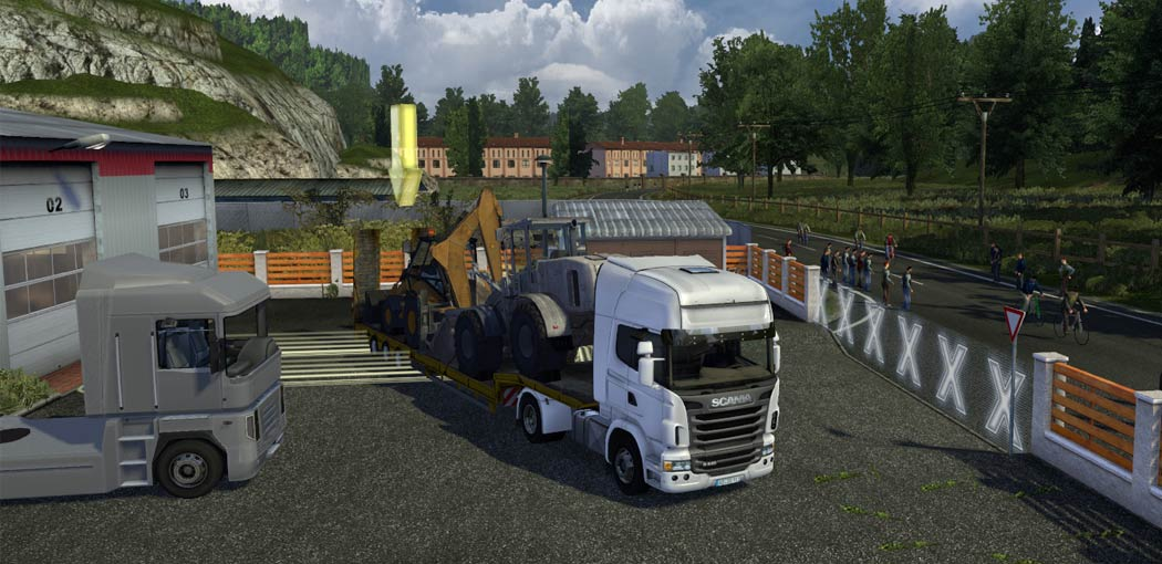 euro truck simulator 2 screenshot 3 Euro Truck Simulator 2 [PC]