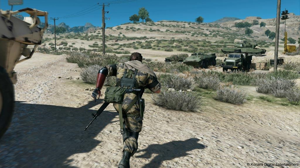 MGS 5 : The Phantom Pain capture d'écran