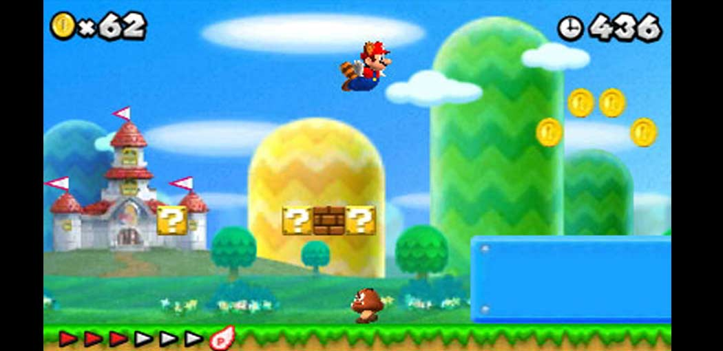 New Super Mario Bros 2 capture d'écran
