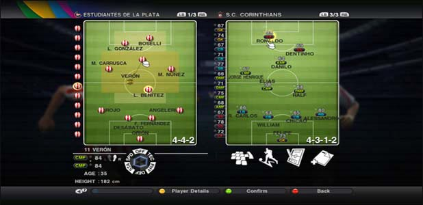 PES 2011 screenshot