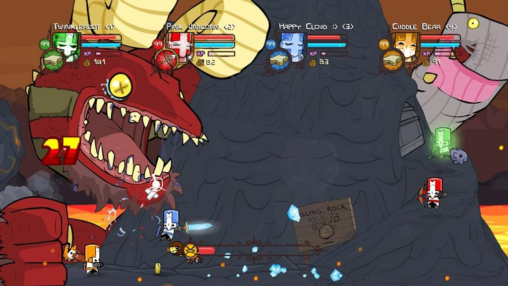 how to get characters on castle crashers