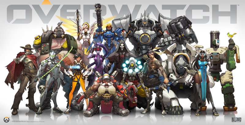 Win your Overwatch copy on PC