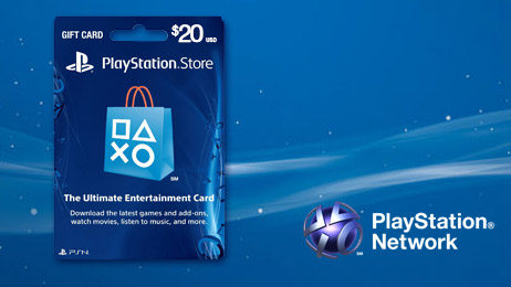 acheter playstation store gift card 20. Black Bedroom Furniture Sets. Home Design Ideas