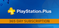 Playstation Plus 365 Day Subscription