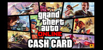 Grand Theft Auto Online Cash Card