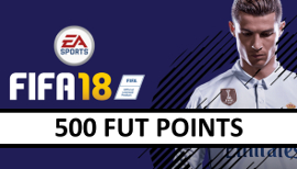 FIFA 18 - 500 Fut Points