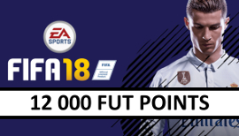 FIFA 18 - 12 000 Fut Points