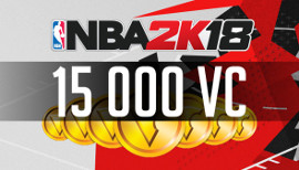 NBA 2K18 - 15 000 VC Points