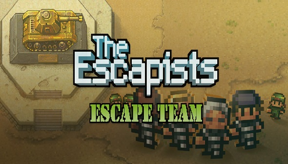 acheter the escapists escape team cl cd. Black Bedroom Furniture Sets. Home Design Ideas
