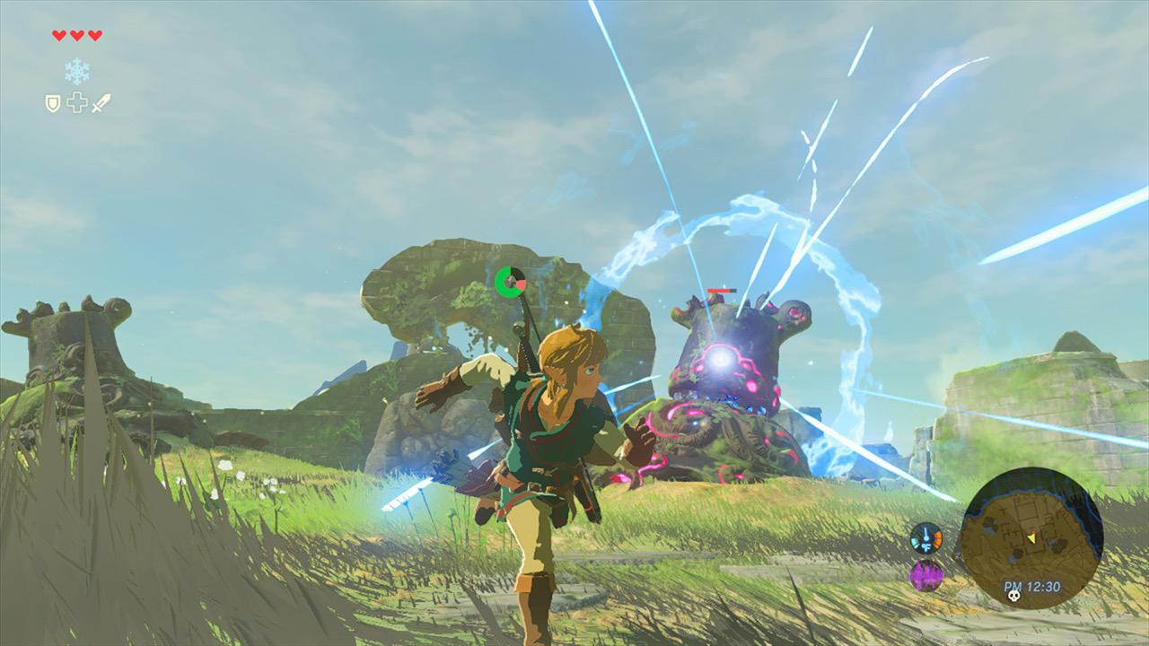 The Legend of Zelda: Breath of the Wild captura de pantalla