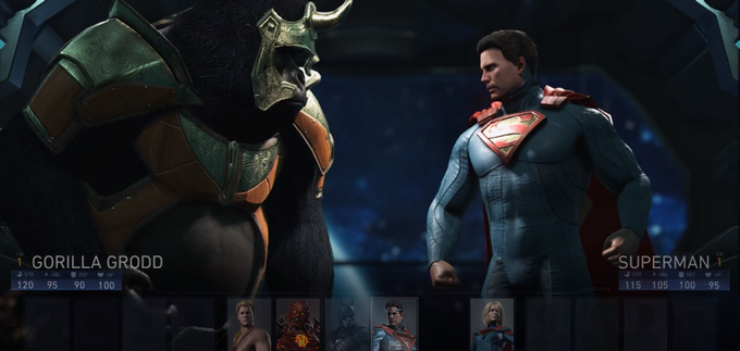 Injustice 2 captura de pantalla