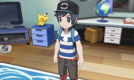 Pokémon Moon captura de pantalla