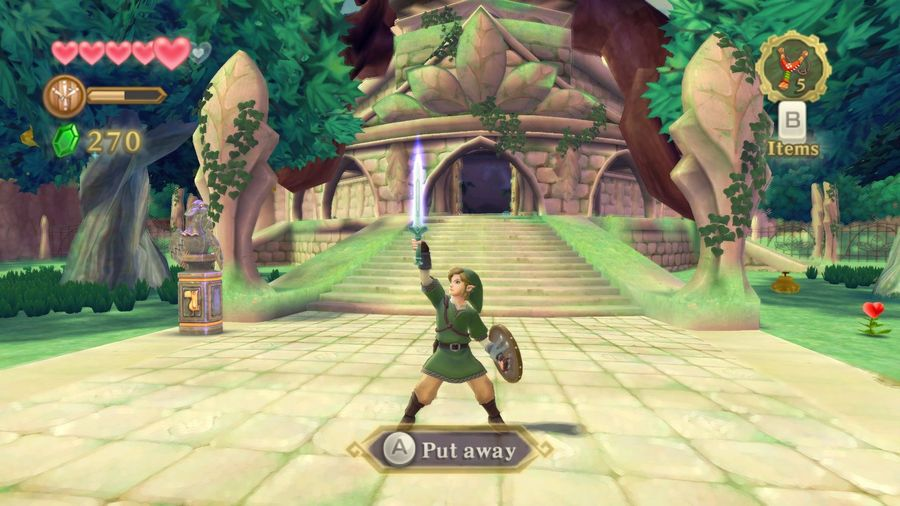 The Legend of Zelda: Skyward Sword capture d'écran