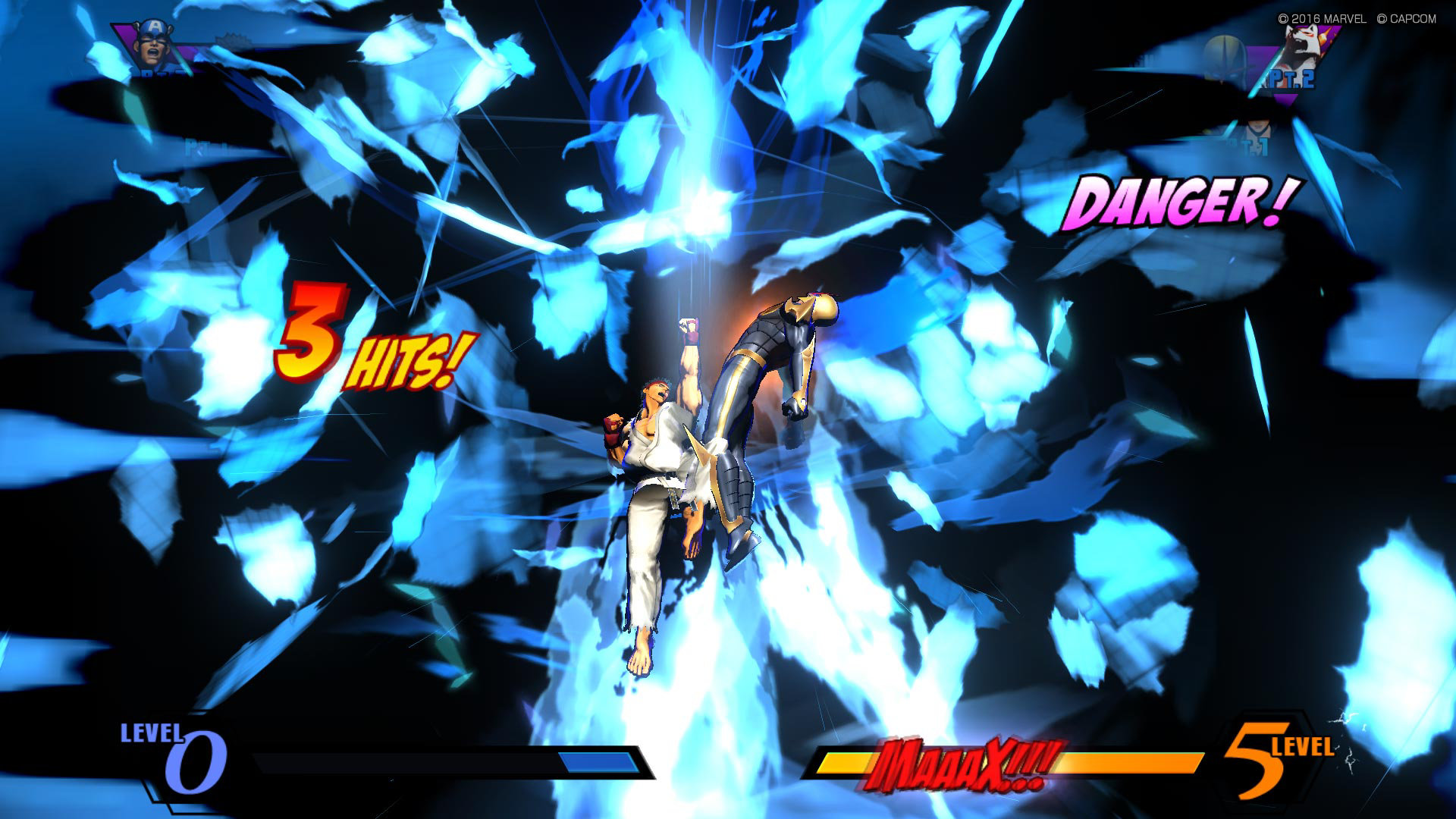 ULTIMATE MARVEL VS CAPCOM 3 capture d'écran