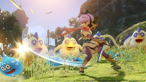 DRAGON QUEST HEROES II screenshot