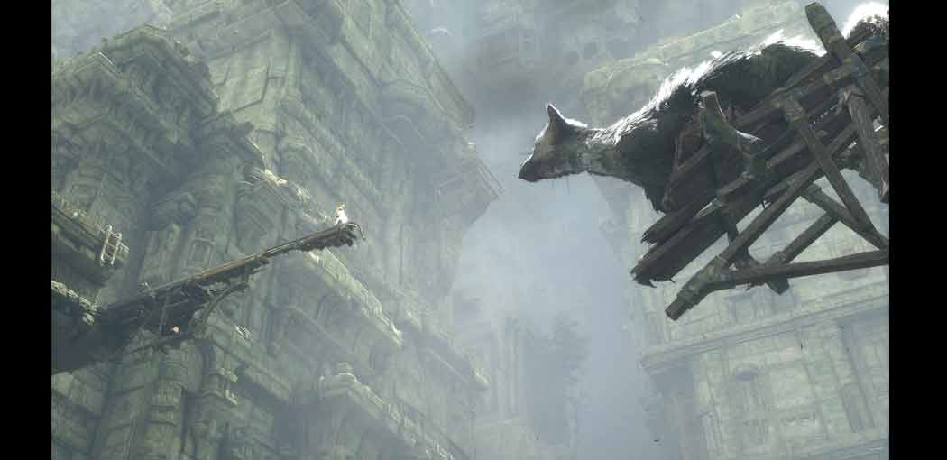 The Last Guardian captura de pantalla