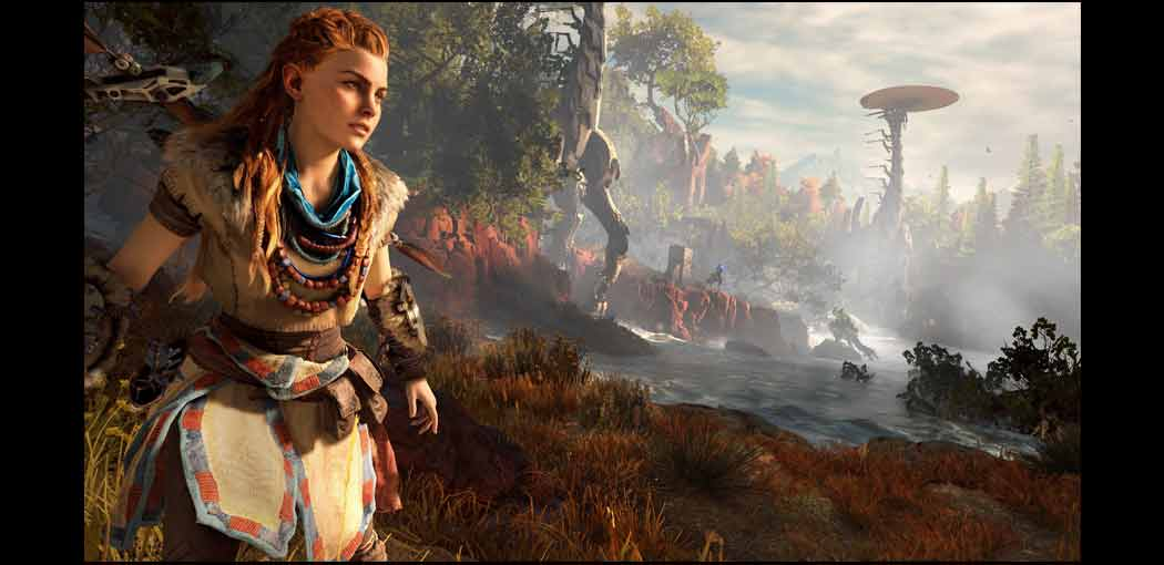 Horizon : Zero Dawn capture d'écran