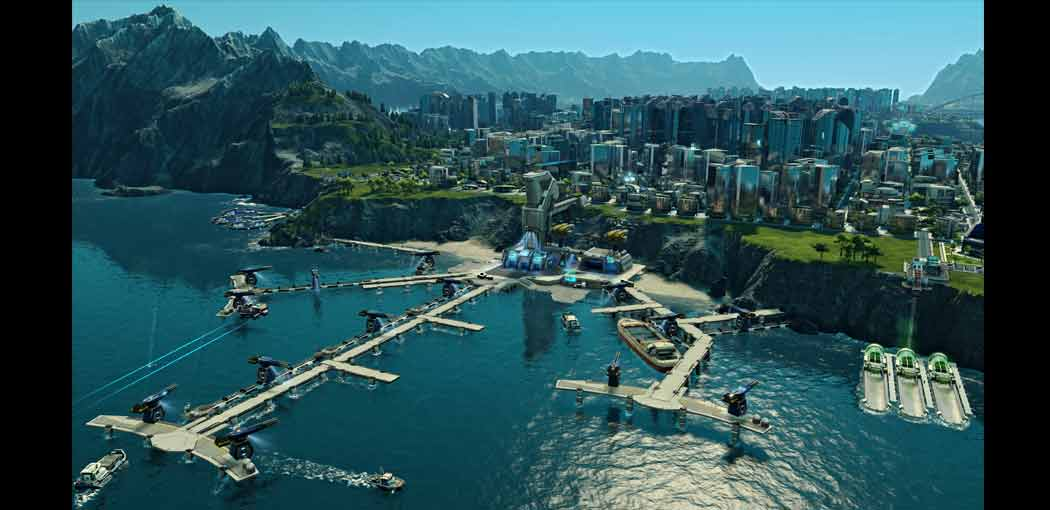 Anno 2205 screenshot