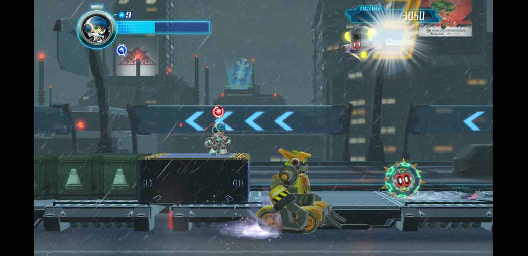 Mighty No. 9 captura de pantalla