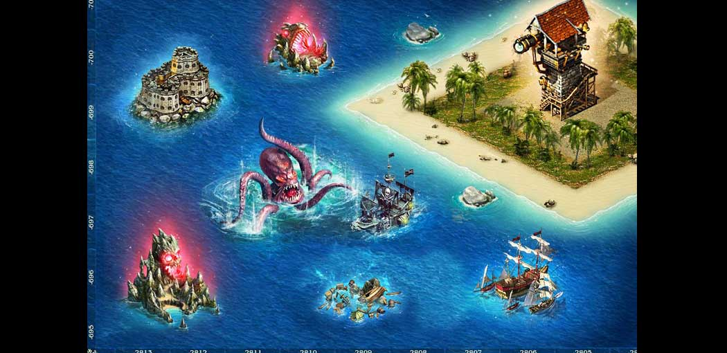 Pirates : Tides of Fortune screenshot