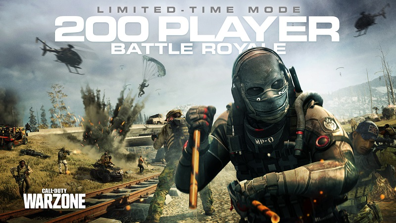 Call Of Duty Warzone Increases The Maximum Number Of Players In A