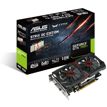 Asus GeForce GTX 750 Ti STRIX OC - 2 Gb