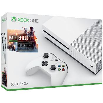 Xbox One S - Battlefield 1 - 500 Gb