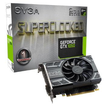 EVGA GeForce GTX 1050 SC Gaming - 2 GB