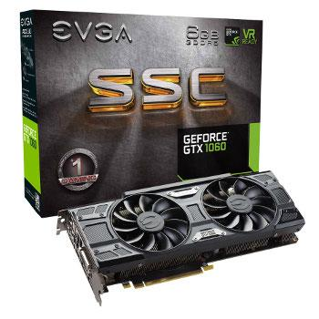 EVGA GeForce GTX 1060 SSC Gaming - 6 Gb