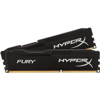 HyperX Fury Black DDR4 2 x 8 Gb 2666 MHz CAS 16