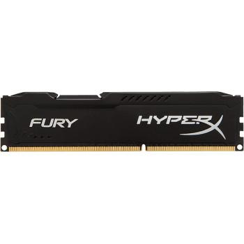 HyperX Fury Black DDR4 1 x 16 Gb 2666 MHz CAS 16