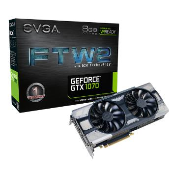 EVGA GeForce GTX 1070 FTW2 Gaming iCX...