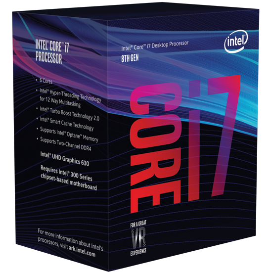 Intel Core i7 8700K (3.7 GHz)